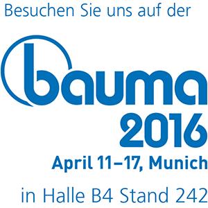 Logo Bauma 2016