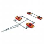 Transportfahrwerk mit Vierpunktauflage - HTS ECO Skate DUO XL PU